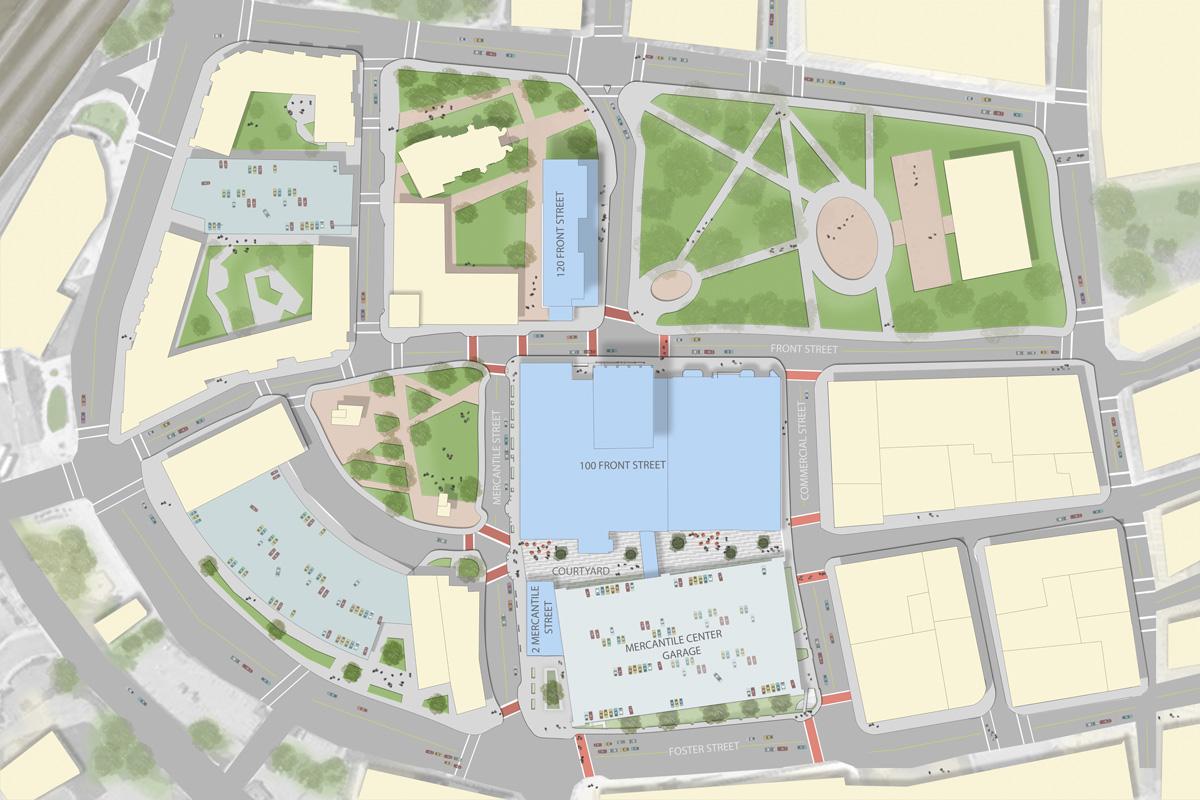 Site Plan – Site Plan Renderings